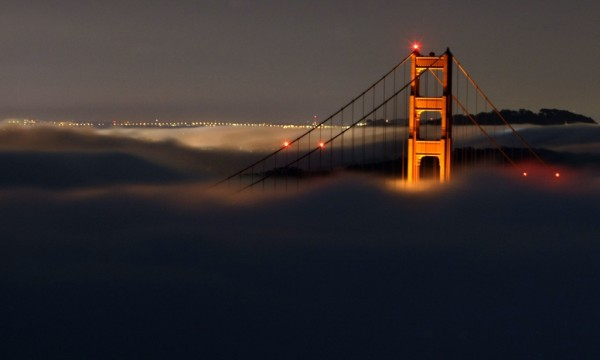 Fred Larson Fog Bridge